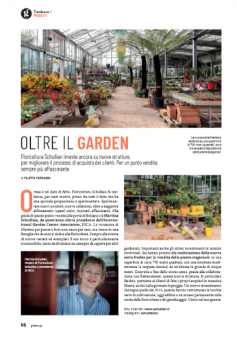 Shullian e il suo nuovo centro giardinaggio